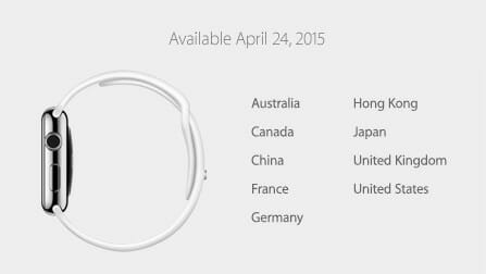 Apple Watch発売日