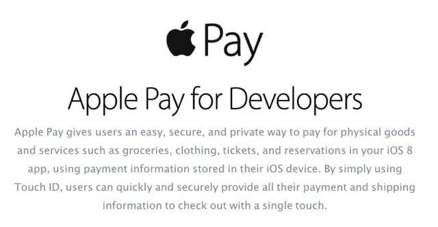 3 Apple Pay Dev