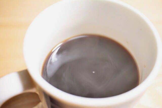 大人のチョコレートコーヒー完成
