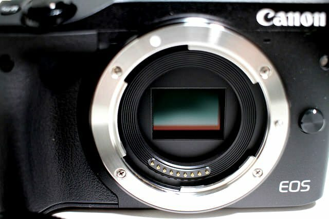 EOS M3 前面 ミラーレス