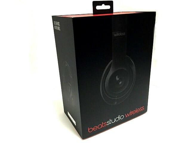 Beats Studio ワイヤレス オーバーイヤーヘッドフォン パッケージ