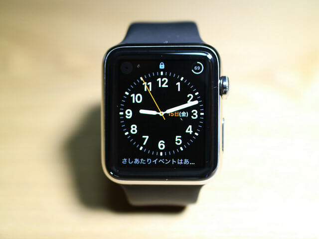 Apple Watch ディスプレイ表示