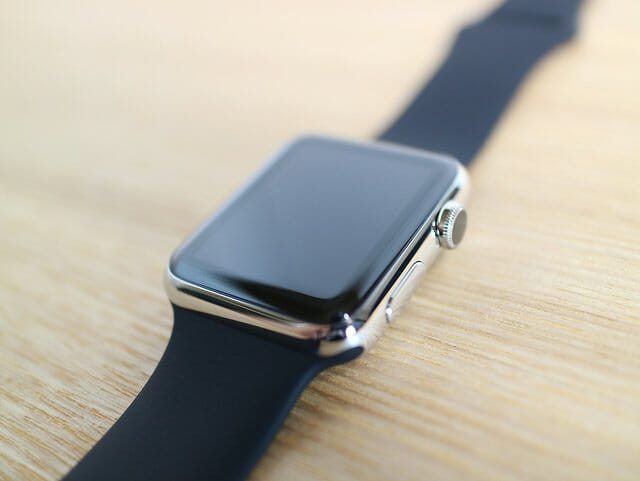 Apple Watch ステンレス輝き