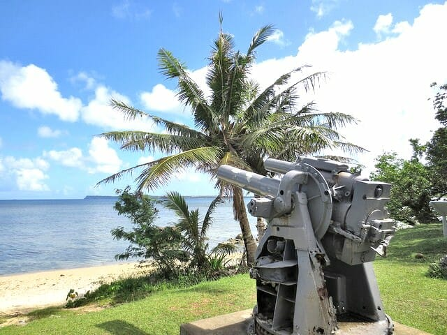 グアム 湾岸砲
