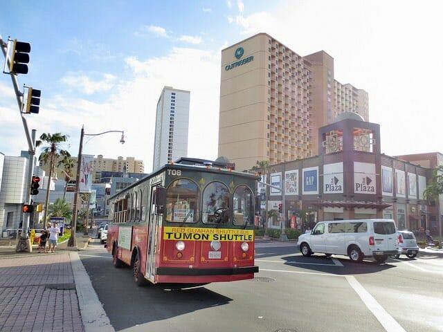 グアム 巡回バス