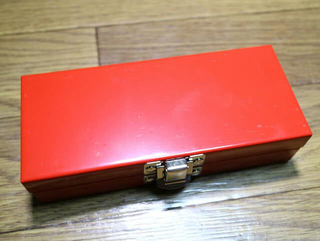 メンテナンス工具ソケットレンチ工具箱