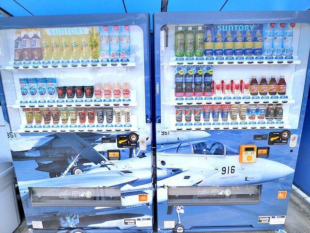 航空自衛隊浜松基地エアーパーク自販機