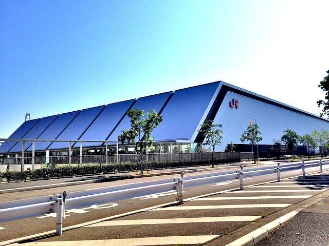 名古屋リニア鉄道館建物外観