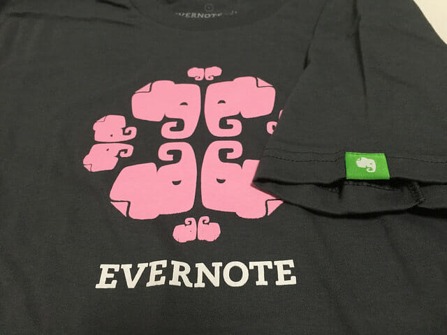 EvernoteMarketTシャツ袖