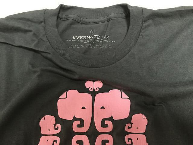 EvernoteMarketTシャツ襟