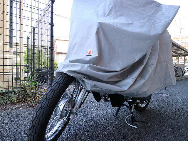 バイクカバー前輪