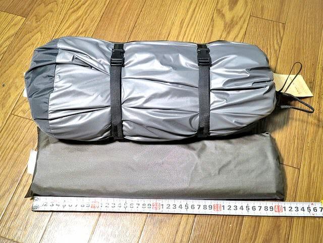アライテント本体フレーム収納袋縦サイズ