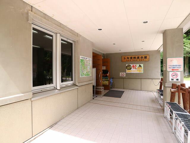 佐渡島トキの森公園トキ資料展示館