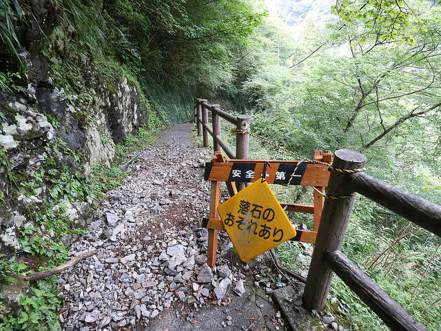 寸又峡夢の吊橋林道