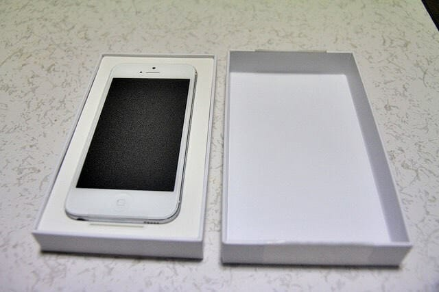 IPhone5AppleCare交換品中身