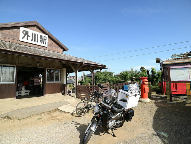 千葉県銚子市銚子電気鉄道外川駅