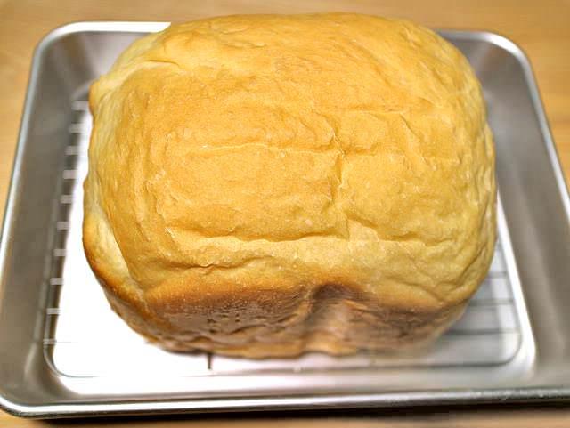 ホームベーカリー食パン完成