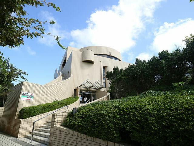 千葉県銚子市地球の丸く見える丘展望館