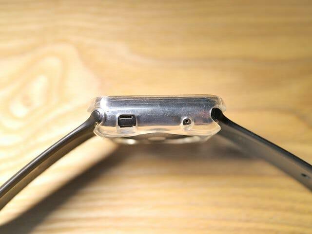 AppleWatchスタンド保護ケース左側