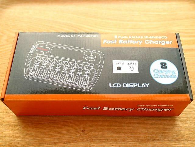 単3電池バッテリーチャージャーパッケージ
