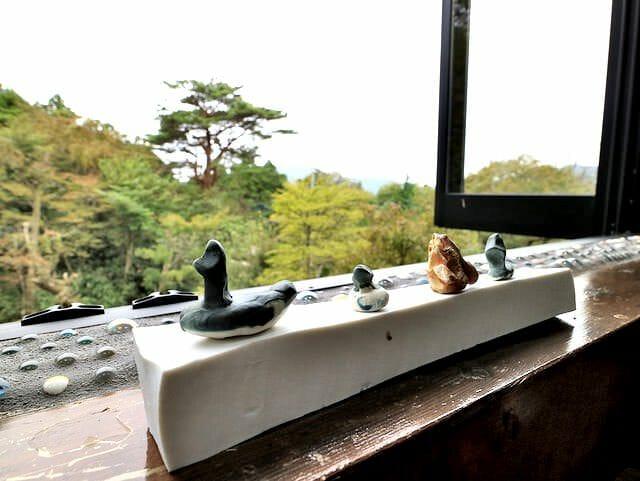 箱根そば竹やぶ眺望