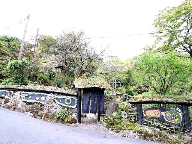 箱根そば竹やぶ門