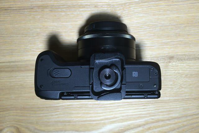 PeakDesignPL M1カメラ装着