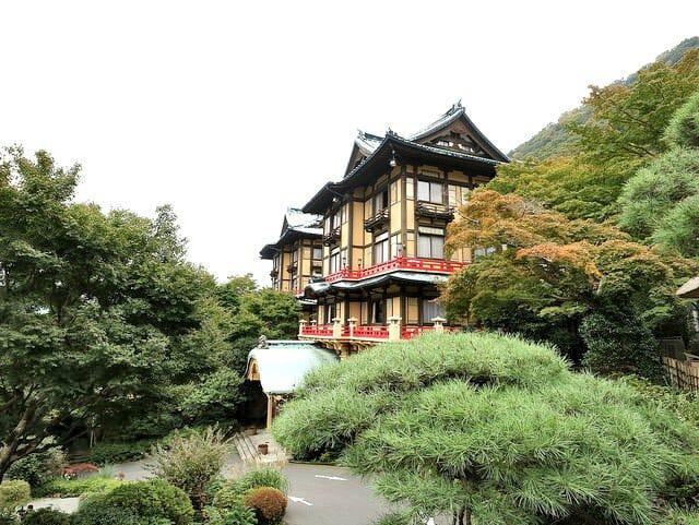 箱根富士屋ホテル花御殿
