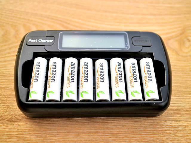 単3電池バッテリーチャージャー電池接地