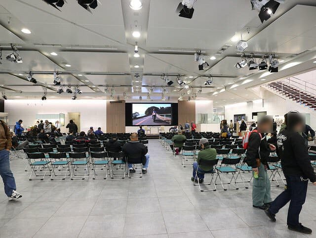 第19回カフェカブミーティングIN青山建物内ステージ