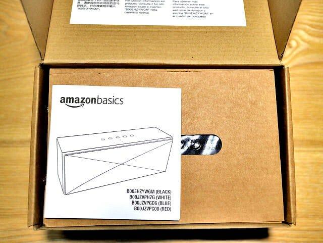 AmazonポータブルBluetoothスピーカー開封1