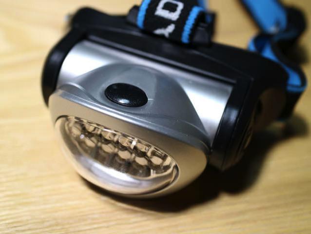 ヘッドランプ電源ボタン