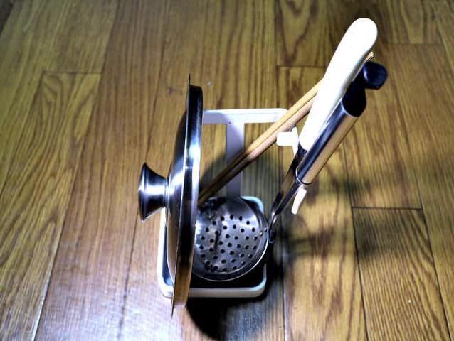 お玉 鍋蓋スタンドお玉2菜箸鍋蓋小