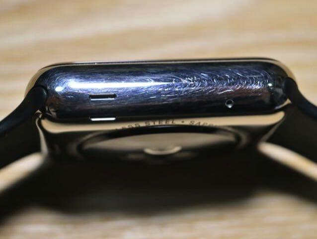 AppleWatch半年左側