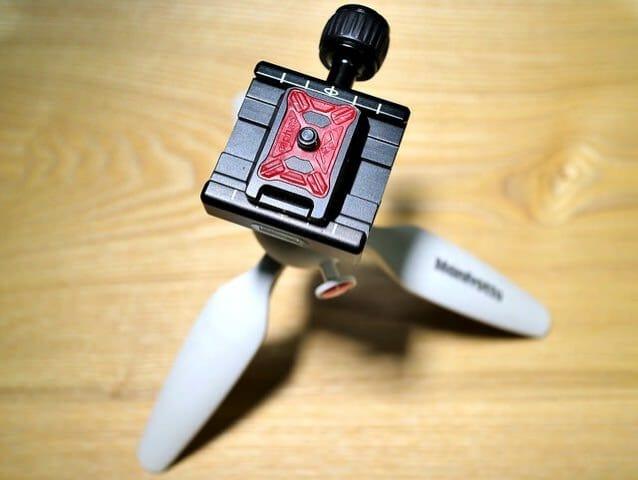 クイックリリースクランプカメラクリップ