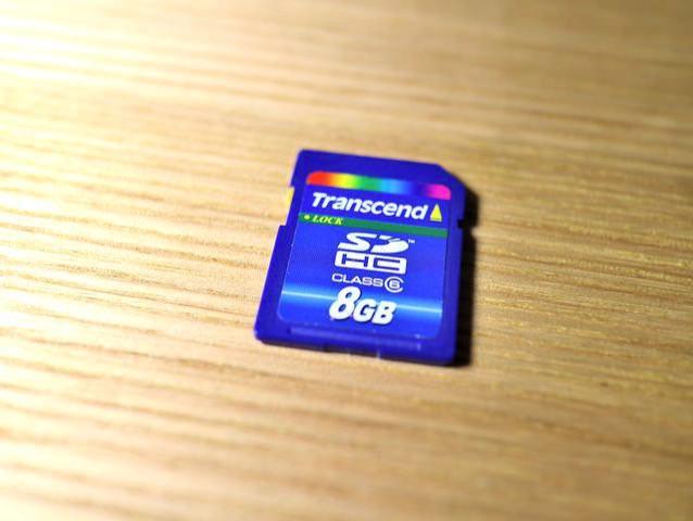 メモリーカード6MBPS