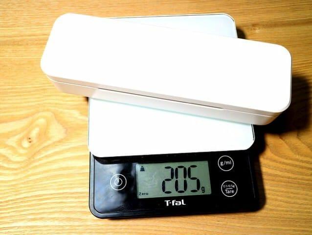 電動歯ブラシ携帯ケース収納重量