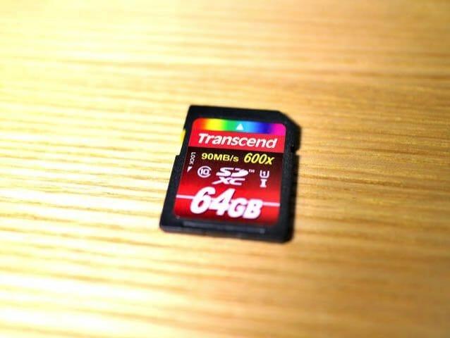 メモリーカード90MBPS
