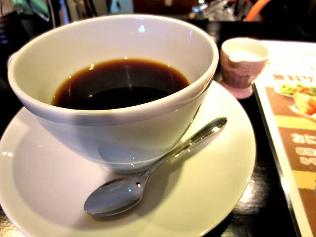 鳥取すなば珈琲モーニングコーヒー