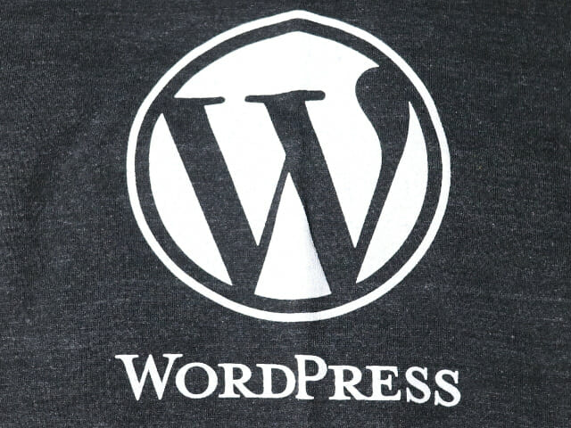 WordPressTシャツロゴ