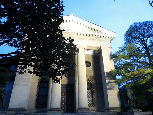 倉敷大原美術館入口