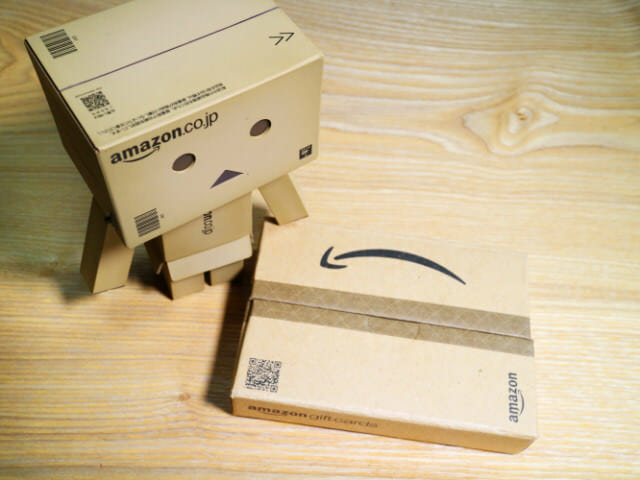 Amazonギフトカードパッケージ