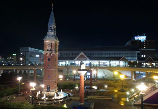 倉敷駅北側