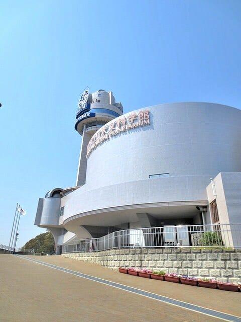 明石市立天文科学館入口