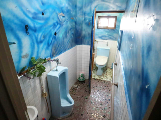 AirbnbA館トイレ