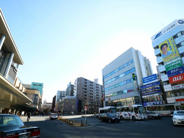 高幡不動駅前