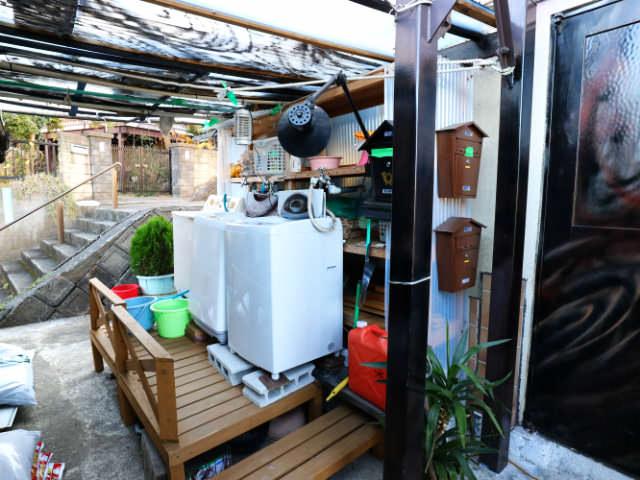 Airbnb洗濯機