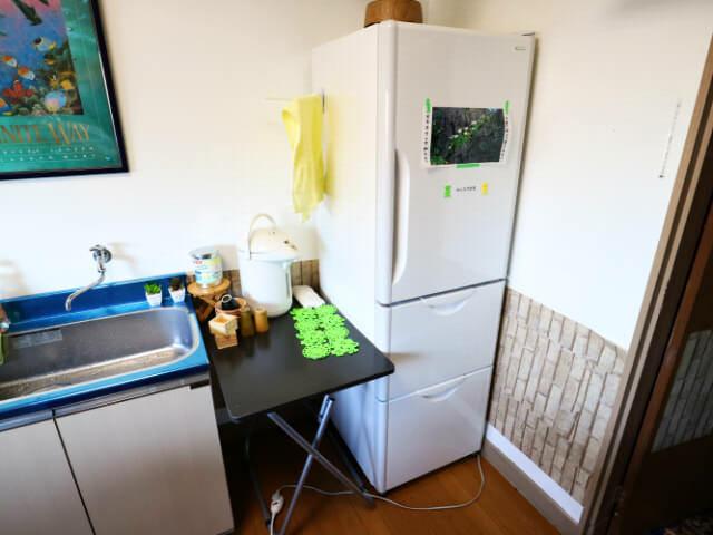 AirbnbA館冷蔵庫