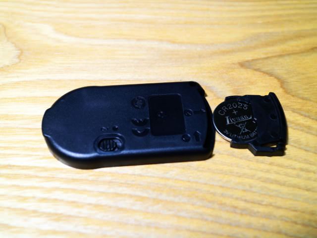 カメラリモートコントローラー電池ボックス