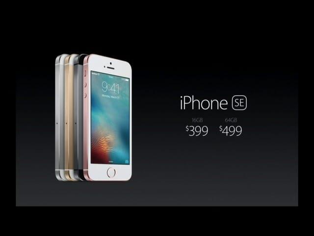 AppleSpecialEvent20160321iPhoneSE価格